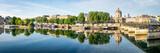 Pont des Arts und Insitut de France in Paris, Frankreich