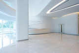 empty modern office building interior - 206818968