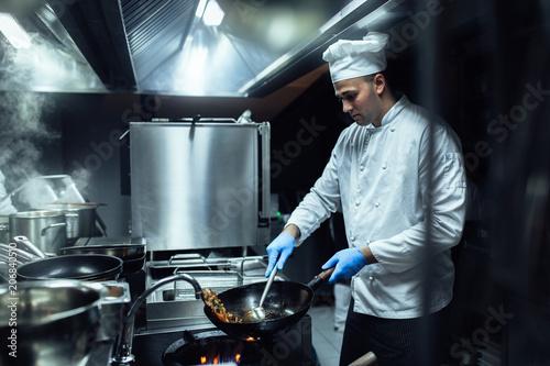 Preparing the finest cuisine