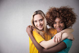 Hugging a friend - 206844569