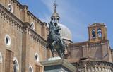 Bartolomeo Colleoni Monument in Venice, Italy - 206846149