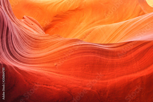 Fotobehang Arizona Waves of Sandstone
