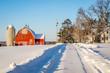 Winter on a Minnesota Farm