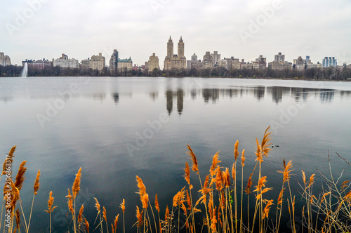 Reflections in Central Park's Reservoir