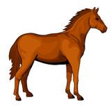 Standing horse figure - 206879799