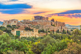 Parthenon, Acropolis of Athens, Greece at summer sunrise - 206895767