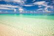 Beautiful ocean beach on Maldives