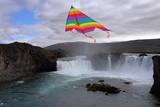 Iceland Happy Godafoss