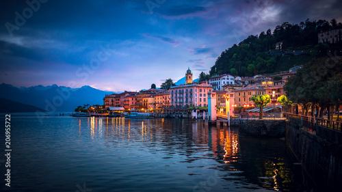Twilight over Bellagio, Lake Como, Italy