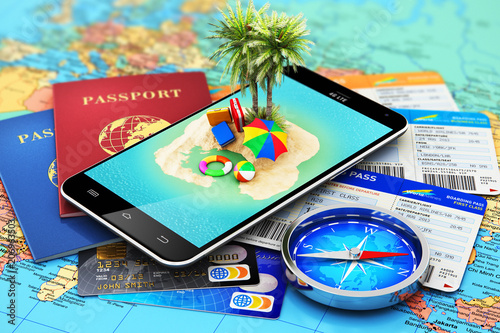 Travel, tourism, holidays and vacations concept