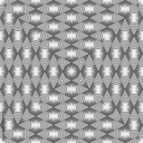 Fototapeta Geometric seamless pattern. Vector abstract background for textile, surface, paper, print design.
