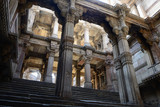 India, Adalaj Stepwell is a Hindu water building in the village of Adalaj, close to Ahmedabad town in the Indian state of Gujarat. - 206985745