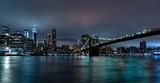 Fototapeta Nowy York - new york night view from brooklyn © Andrea Izzotti