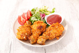 crispy chicken leg - 207006752
