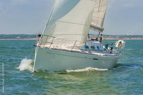 Fotobehang Zeilen Sailing Boat Yacht