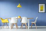 Minimal style dining meeting room