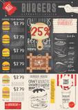 Burger Menu Template - 207023979