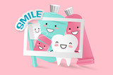 cute cartoon tooth - 207080907