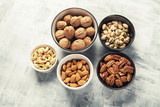 Different kinds of nuts - 207081739