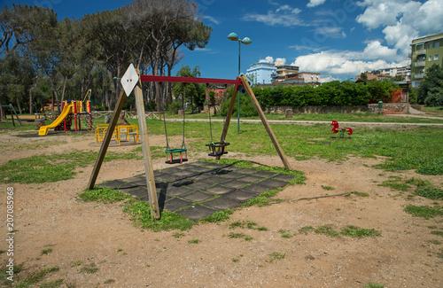 Foto Murales Parco giochi per bambini