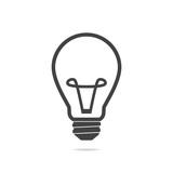 Light bulb line icon vector - 207089101