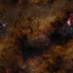 Spase Seamless background. Elements of this Image Furnished by NASA.
