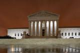 supreme court dc washington at night