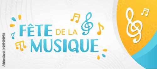 Fotobehang Muziek Fête de la Musique - 21 Juin