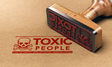 Toxic People or Relationship, Manipulative Person Concept - 207101301