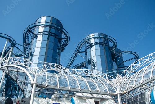 Fotobehang Amusementspark Freizeitpark