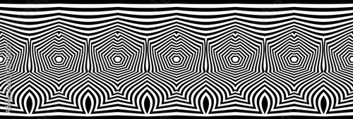 torsion illusion pattern, optical geometric design - 207110521