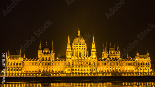 Fotobehang Boedapest Hungarian Parliament Building