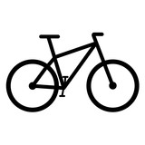 Bike icon vector