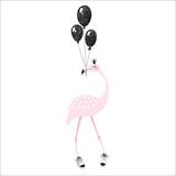 Flamingo cute print - 207154924