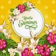 Happy Summer Flowers  L