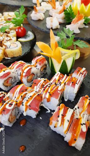 Aluminium Sushi bar sushi buffet