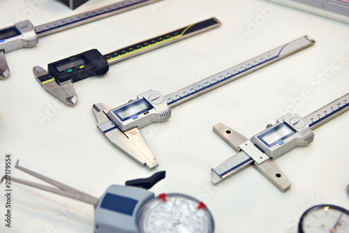 Leinwanddruck Bild Digital calipers