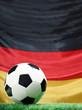 Leinwanddruck Bild - Fußball