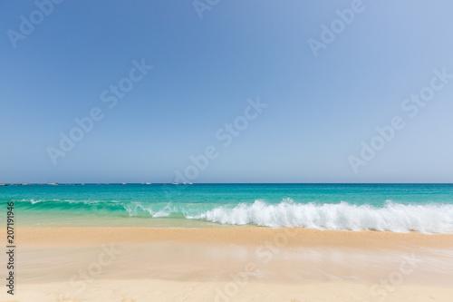 Beautiful and sunny seascape