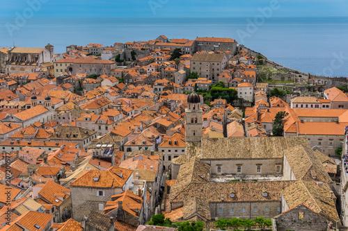Dubrovnik old town panorama © Catalina