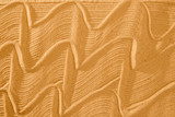 flowing art wave pattern sand for wellness and tranquility with copy space