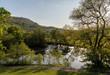 Horseshoe Falls outside Llangollen in Wales - 207205539
