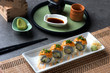 ebiten tempura prawn roll sushi
