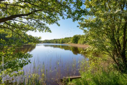 romantische Landschaft in Deutschland - 207228982