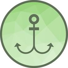 Anchor Nautical Ship Sticker
