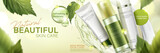 Natural skin care products ad - 207254111