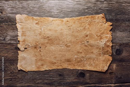 Vintage blank paper - 207256964