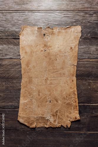 Vintage blank paper - 207256982