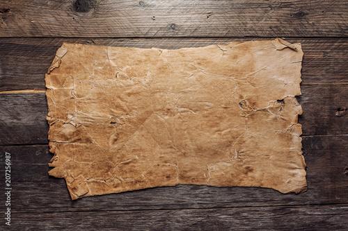 Vintage blank paper - 207256987