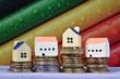immobilier maison logement credit hypothecaire Euros Argent